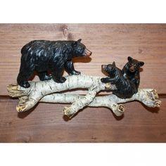 Wall Key Hook - Birch Bear Cubs from American Expedition Key Hooks, Bear Cubs, Birch, Lion Sculpture, Statue, Art, American, Decor, Cubs