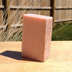 Pink Grapefruit Soap with Crushed Apricot