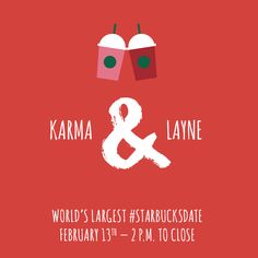 Join me for the World's Largest #StarbucksDate!