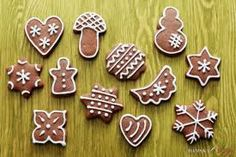 Who is Santa Claus and how do you celebrate St. Nicholas Day in Germany? Gingerbread Man, Gingerbread Cookies, My Recipes, Cookie Recipes, Cooking Websites, Cooking Ideas, Chocolate Coins, Christmas Cooking, Cookie Designs