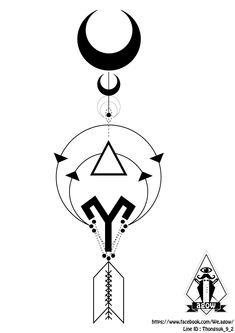 Aries Arrow Tattoo Designs
