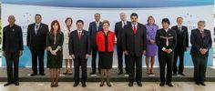 Reunidos em Brasília, os presidentes aprovaram a entrada da Bolívia no bloco, a declaração sobre emprego e discutiram o acordo comercial com a União Europeia