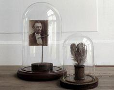 Image result for vintage glass domes
