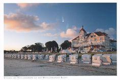 Strand von Kühlungsborn an den Mecklenburger Bucht.
