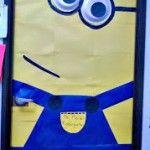 DIY Despicable Me Minion Bulletin Board/ Door Decoration For a Classroom