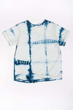 The Skip Tee | Shibori Squares https://18waits.com/collections/spring-summer-2017/products/hopper-hunter-the-skip-tee-shibori-squares