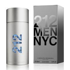 ¿No sabes qué regalar a tu pareja? Regálale un nuevo perfume para renovar su aroma.  #aroma #regalo #hombre #perfume #Carolina #Herrera #212