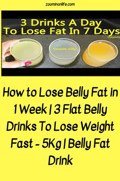 Weight loss with water therapy