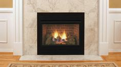 Monessen Natural Gas Vent-Free Fireplace System with Triple Play Burner, Charred Timber Logs & Blower - BTU - Indoor Gas Fireplace, Vent Free Gas Fireplace, Vented Gas Fireplace, Home Fireplace, Fireplace Inserts, Fireplace Ideas, Fireplace Surrounds, Valor Gas Fires, Valor Fireplaces