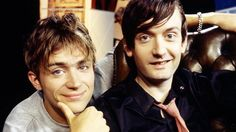 Damon Albarn and Jarvis Cocker