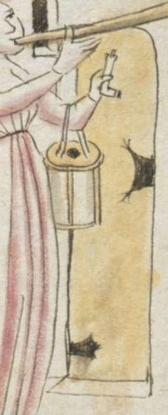 Johannes von Indersdorf. Spruchsammlung von Eigenbesitz. Büchlein von der geistlichen Gemahelschaft Bayern, 1454 Cgm 775 Folio 194