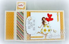 DT Thursday: Wiper Card with Sandiebella | stamping bella