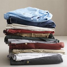 00ecc3e1438 Perfect-for-fall washed chino pants.