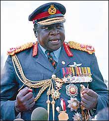 Idi Amin Dada from Uganda. Assassin, African Dictators, Idi Amin, Evil People, Art Africain, African Countries, Costume, Persecution, World Leaders