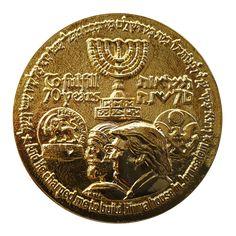 Image result for Medallion commemorating moving the U.S. embassy to Jerusalem.