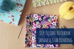 DIY: Square Notebook Japanese Stab Binding