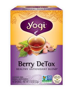Detox and revitalize with a cup of Berry DeTox. Tangy notes of hibiscus and antioxidant-rich açaí  berry will give you the boost you need.*