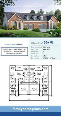 77 Rental Property Ideas In 2021 Duplex Plans Duplex Floor Plans Duplex House Plans