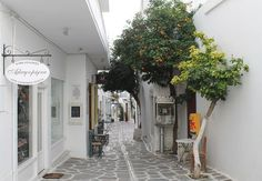 A Street in Paros Greece - Two Weeks in the Greek Islands Itinerary: Island Hopping in Cyclades