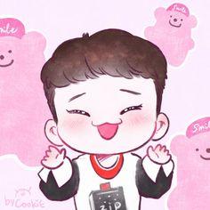 #Fanart #Chen #EXO Cr.yooocookie