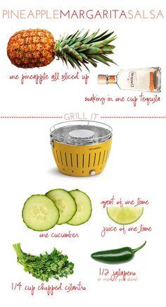 Pineapple Margarita Salsa : Alexandra Hedin
