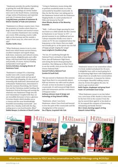 ~ What does Haslemere mean to you? ~ Reflecting on 50 issues and eight years of Life in Haslemere magazine at the heart of local life #locallife #Haslemere #Surrey #GOLD50