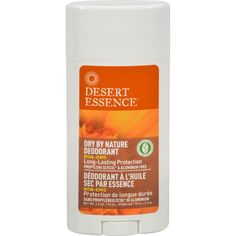 Desert Essence Dry By Nature Deodorant Chamomile and Calendula - 2.5 oz