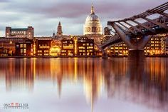 Londra, Millennium Bridge Greenwich London