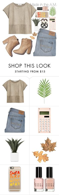 """""""⌑ MADE IN THE AM ⌑"""" by xhopefulromanticx ❤ liked on Polyvore featuring moda, MANGO, Abercrombie & Fitch, Laurence Dacade, Casetify, Bobbi Brown Cosmetics, OneDirection y madeintheam"""