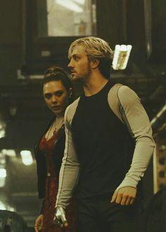 I like Wanda with a high ponytail.