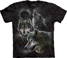 Eclipse Wolves T-Shirt - American Expedition