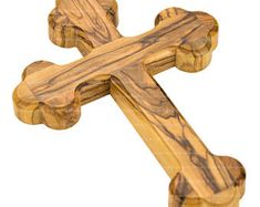 Olive Wood Wall Cross 13 cm 5.11 inch