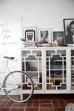 this cupboard is beautiful. Meet the Blogger: Mia Anderberg | Lovely Life