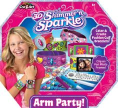Cra Z Art Shimmer N Sparkle Arm Party « Game Searches