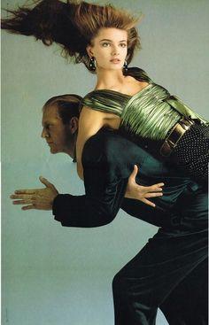 Christy Turlington, Paulina Porizkova & Cindy Crawford by Richard Avedon for Versace S/S 1987