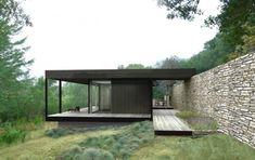 The Wallace Creek Prefab Residence Designed By Marmol Radziner Prefab