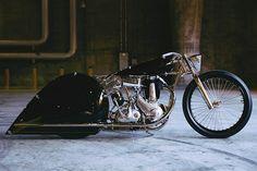 Max Hazan's BSA 500 Motorcycle
