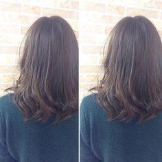 本日のお客様 お久しぶりのカラーで 明るすぎず赤みがないカラーで とのオーダーでthrowカラーを使いアッシュベージュでカラーしました 光が当たったときの抜け感が とてもキレイで落ち着いてました() #throwカラー #アッシュベージュ #春におすすめ #creer_for_hair #美容室 #鹿児島市