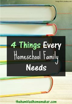I've learned that these 4 things are must-haves for every homeschool family! I had no idea how unprepared I was when I started homeschooling without thing #1!!