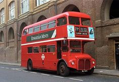 London Red Bus, Routemaster, Double Decker Bus, Bus Coach, London Transport, Great Britain, Transportation, Coaches, Buses