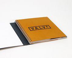 Valve Annual Report 2013 by Andrew Considine, via Behance