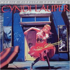 CYNDI LAUPER - SHE'S SO UNUSUAL (NUMBERED LIMITED EDITION Vinyl LP)