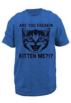 8c597f1b5 Hybrid™ Kitten Me Tee #Belk #Attitude #YoungMen Awesome Shirts, Cool Shirts