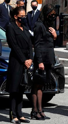 Princess Grace Kelly, Princess Alexandra, Princess Stephanie, Princess Charlene, Camille Gottlieb, Funeral Ceremony, Patricia Kelly, Charlene Of Monaco, Monaco Royal Family