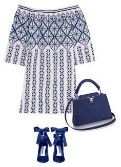"""""""Untitled #6908"""" by lisa-holt ❤ liked on Polyvore featuring Miguelina and Alice + Olivia"""