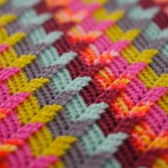 Apache tears blanket crochet pattern