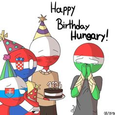 Happy Birthday Hungary❤ i know this day is yesterday (sorry :c) . … Happy Birthday Hungary❤ i know this day is yesterday (sorry :c) . Hungary Hetalia, History Memes, Country Art, 13 Year Olds, I Know, My Friend, Fun Facts, Happy Birthday, Stock Photos