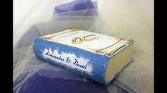 Decoupage# Tutorial  Pudełko-Książka [Box-Book]
