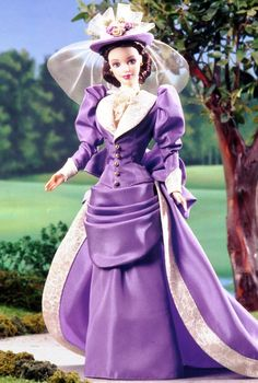 Mrs. P.F.E. Albee™ Barbie® Doll designed to honor the very first Avon Representative.