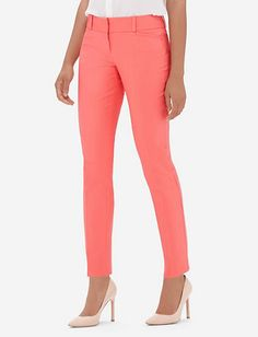 Cotton Pencil Pants from THELIMITED.com
